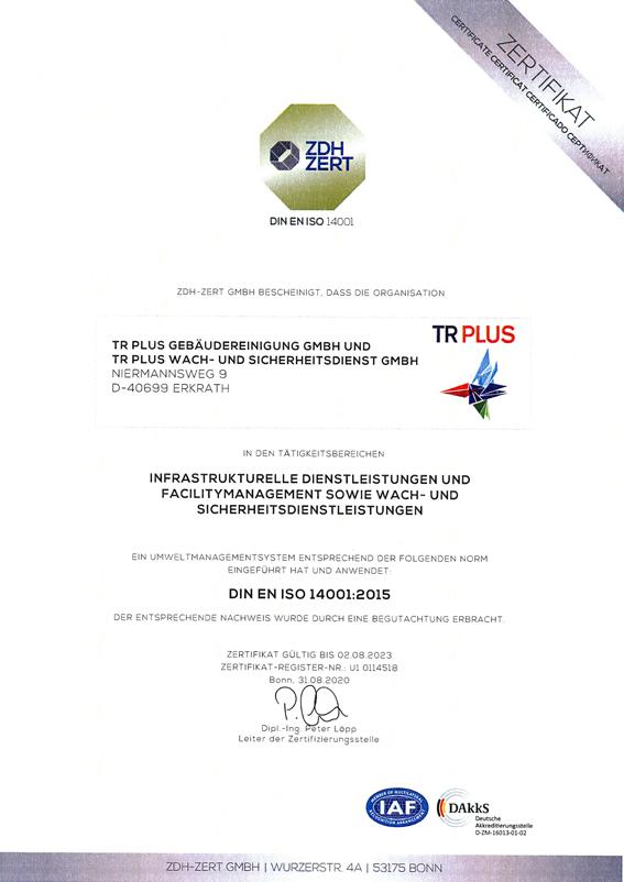 14001_Zertifikat