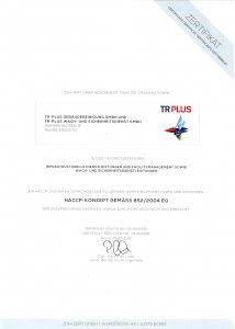Zertifikat_ZDH_ZERT nach HACCP