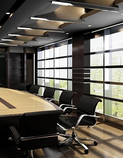 Modernes Büro bei TR Plus