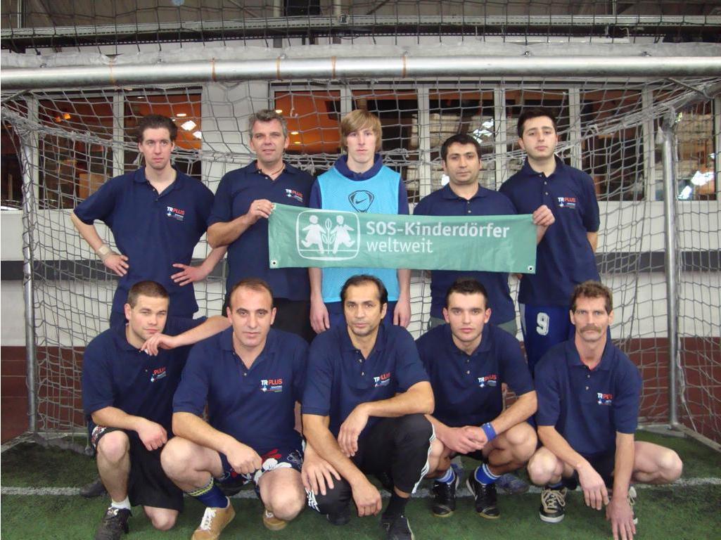 TR Plus Fussballteam für den 4. Companys Cup beim Qualifikationstunier Düsseldorf
