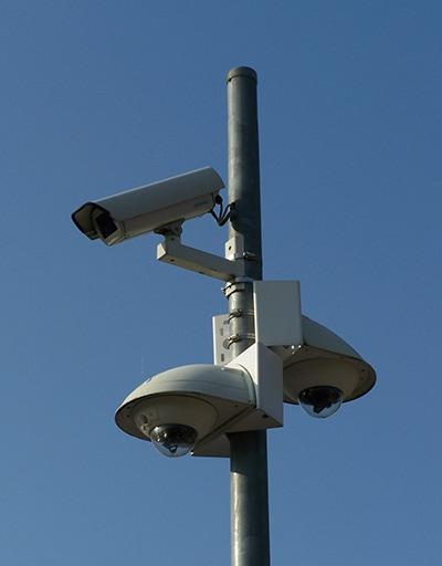Überwachungskamera von TR Plus